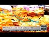 China hace una fortuna gracias a campañas políticas de México   Noticias con Yuriria Sierra