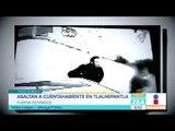 Asaltan cuentahabientes en Tlalnepantla, Estado de México   Noticias con Francisco Zea