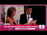 Luis Gerardo Méndez actuará junto a Jennifer Aniston y Adam Sandler | Noticias con Yuriria Sierra