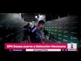 Enrique Peña Nieto le deseó suerte a la Selección | Noticias con Yuriria Sierra