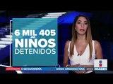Condiciones infrahumanas para niños que son detenidos en la frontera | Noticias con Ciro Gómez Leyva