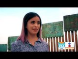 Bailarinas mexicanas y estadunidenses bailan en el muro de Trump | Noticias con Zea
