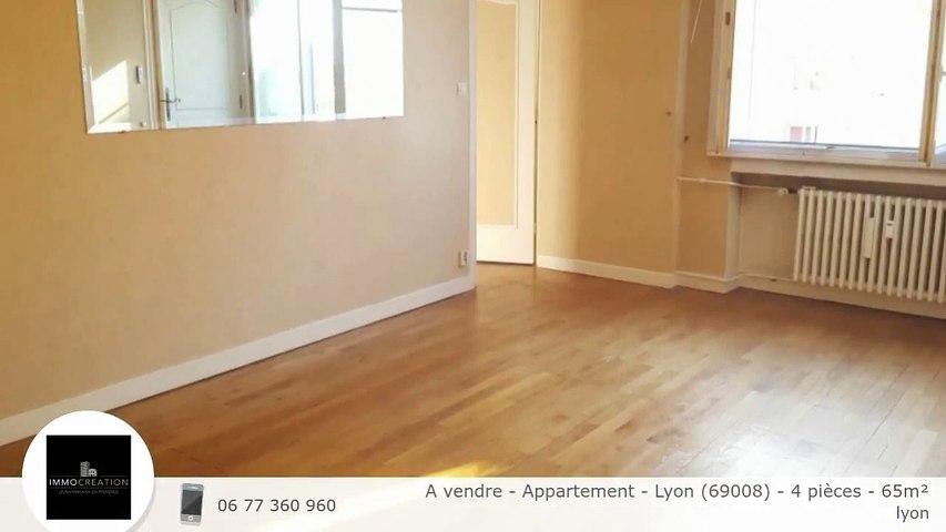 A vendre - Appartement - Lyon (69008) - 4 pièces - 65m²