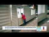 Escuelas dañadas por sismos no fueron atendidas porque hubo campañas | Noticias con Zea
