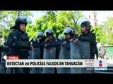 De nuevo aplicarán exámenes de confianza a policías de Tehuacán | Noticias con Ciro