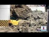 Deslave en Bosques de las Lomas deja autos sepultados   Noticias con Ciro