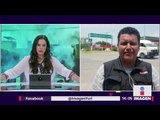 Normalistas atacan Batallón de Infantería en Iguala   Noticias con Yuriria Sierra