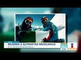 Mueren dos alpinistas mexicanos en Perú   Noticias con Francisco Zea