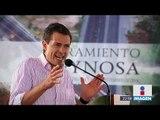 Enrique Peña Nieto aseguró que la seguridad en Tamaulipas sigue siendo un reto | Noticias con Ciro