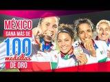 México llega a las 100 medallas de oro en Barranquilla 2018 | Noticias con Francisco Zea