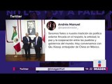 López Obrador se reúne con embajador de China ¿Qué pasará con México?   Noticias con Yuriria