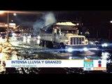 ¡Alerta roja en sur de la CDMX por las fuertes lluvias y granizo!   Noticias con Francisco Zea