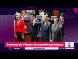 El suplente de Manuel Velasco no tiene nada de experiencia | Noticias con Yuriria Sierra