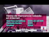 Así venden productos robados en internet | Noticias con Yuriria Sierra