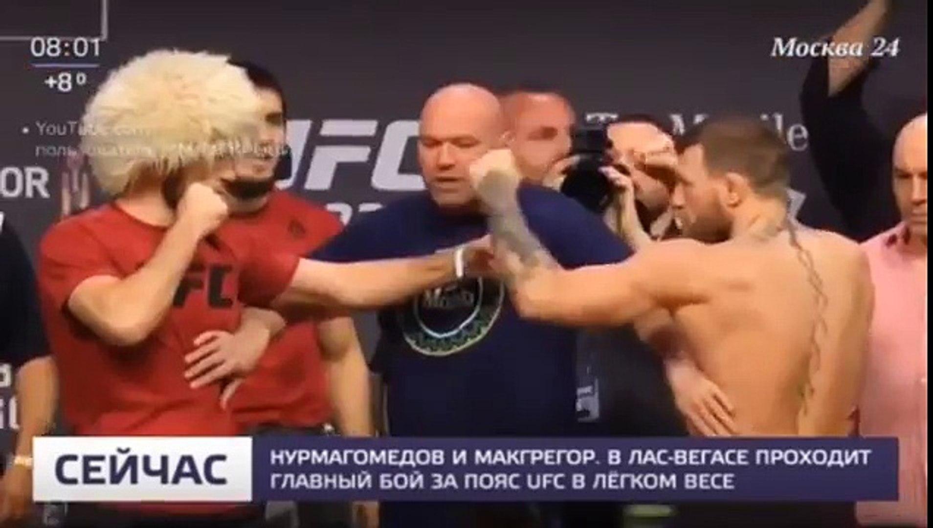 Хабиб Нурмагомедов уничтожил Конора Макгрегора UFC 229 История конфликта, разбор боя