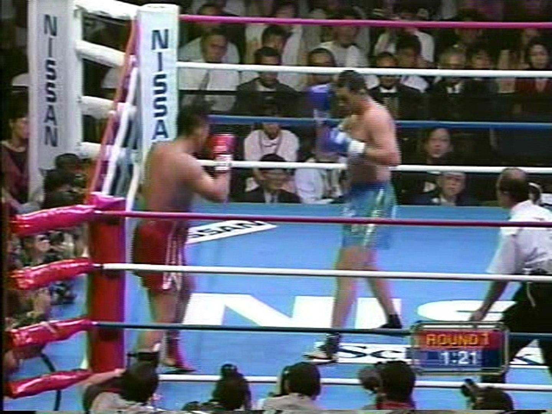 K-1 GRAND PRIX 98 開幕戦 GRAND PRIX 1回戦 「佐竹雅昭 vs. グラウベ ...