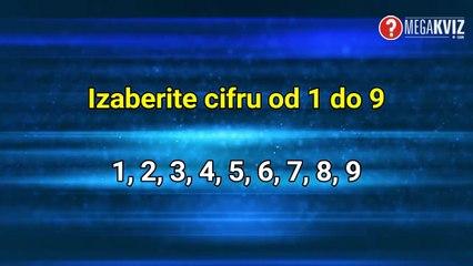 Izaberite broj i mi ćemo vam reći koliko imate godina