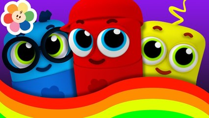 Aprende Colores para Niños | Canciones Infantiles Para Bebes | La Pandilla de Colores | BabyFirst TV