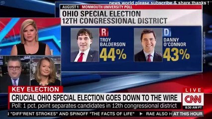 BREAKING NEWS CRUCIAL OHIO SPECIAL ELECTION GOES DOWN TO THE WIRE. CNN NEWS