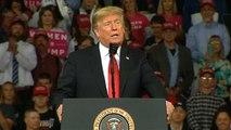 """Kavanaugh : """"l'immense victoire"""" de Trump"""