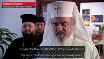 Romanians cast votes in marriage referendum