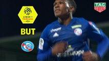 But Lebo MOTHIBA (40ème) / Angers SCO - RC Strasbourg Alsace - (2-2) - (SCO-RCSA) / 2018-19