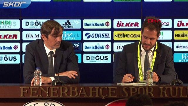 Fenerbahçe Teknik Direktörü Phillip Cocu'dan istifa sorusuna cevap