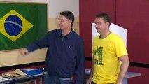 Bolsonaro lidera resultados en Brasil con conteo parcial