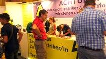 Die Berufs- und Bildungstage «next-step» in Schaan haben heute begonnen. Wir waren bei der Eröffnung dabei. Die «Messe» ist auch am Samstag von 9 bis 16 Uhr geö