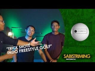 #MainGolfYuk: Trick shots indo freestyle golf