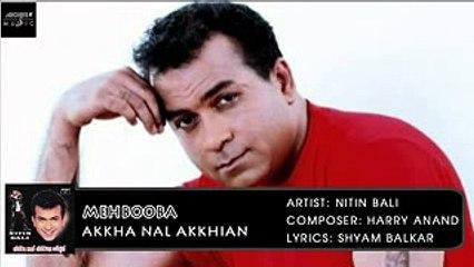 Mehbooba | Nitin Bali | Akkha Nal Akkhian | Archies Music