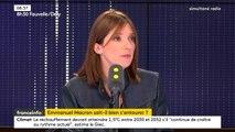 """""""Je ne pense pas qu'il y ait un problème de DRH à l'Élysée. On est en train d'initier un mouvement nouveau et qui est extrêmement jeune"""", estime la députée LREM Aurore Bergé."""