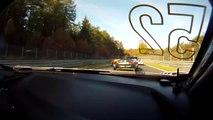 VÍDEO: Duelo Audi R8 vs Aston Martin Vantage en Nürburgring