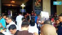 Heart relic of Saint Padre Pio arrives at Santísimo Rosario Parish Church, University of Santo Tomás, Manila