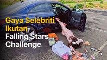 Gaya Gokil Selebritis Indonesia Ikutan Falling Stars Challenge