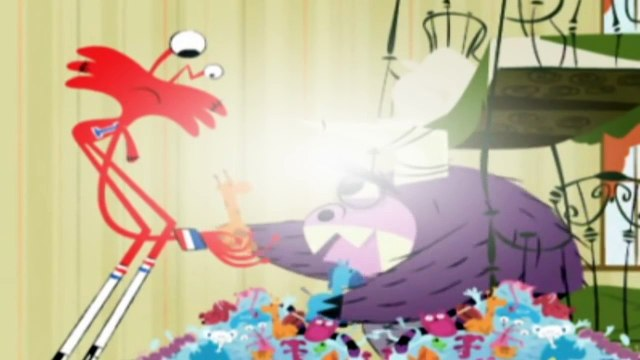 Fosters Home for Imaginary Friends S03E04 Fosters Goes to Europe