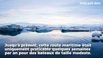 Un porte-conteneurs franchit pour la première fois l'Arctique par le Nord