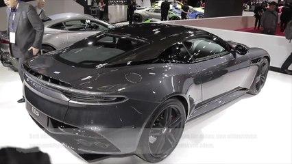 Aston Martin DBS Überblick auf dem Mondial de l'Automobile Paris 2018