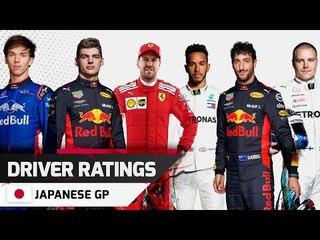 Driver Ratings - Japanese GP