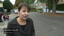 Caroline Lucas: Government must change climate change policy