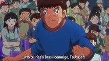 Wakabayashi Intenta Animar a Tsubasa  Captain Tsubasa Capitulo 21
