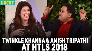 Uncut : Twinkle Khanna & Amish Tripathi at HT Leadership Summit