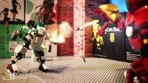 LEGO MOC Hulkbuster beats Ultron Stop Motion 樂高 浩克毀滅者