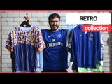 Footy shirt enthusiast to exhibit his collection of 150 retro jerseys   SWNS TV