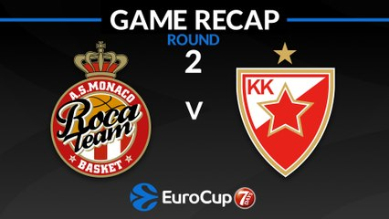 7Days EuroCup Highlights Regular Season, Round 2: Monaco 63-66 Zvezda