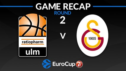 7Days EuroCup Highlights Regular Season, Round 2: Ulm 103-92 Galatasaray