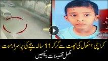 11-year-old dies after falling off school building in Karachi