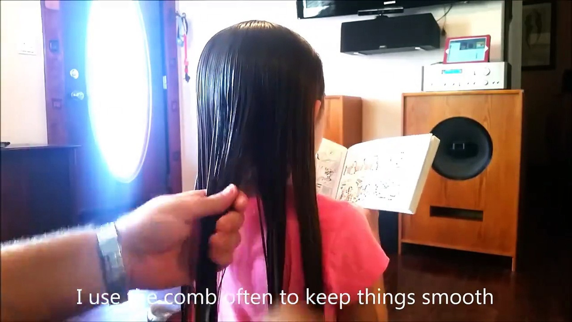 6 strand braid tutorial by Dad! Credit: Daddy Daughter Hair Factory