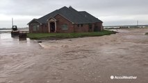 Roads, neighborhoods left submerged from intense flooding