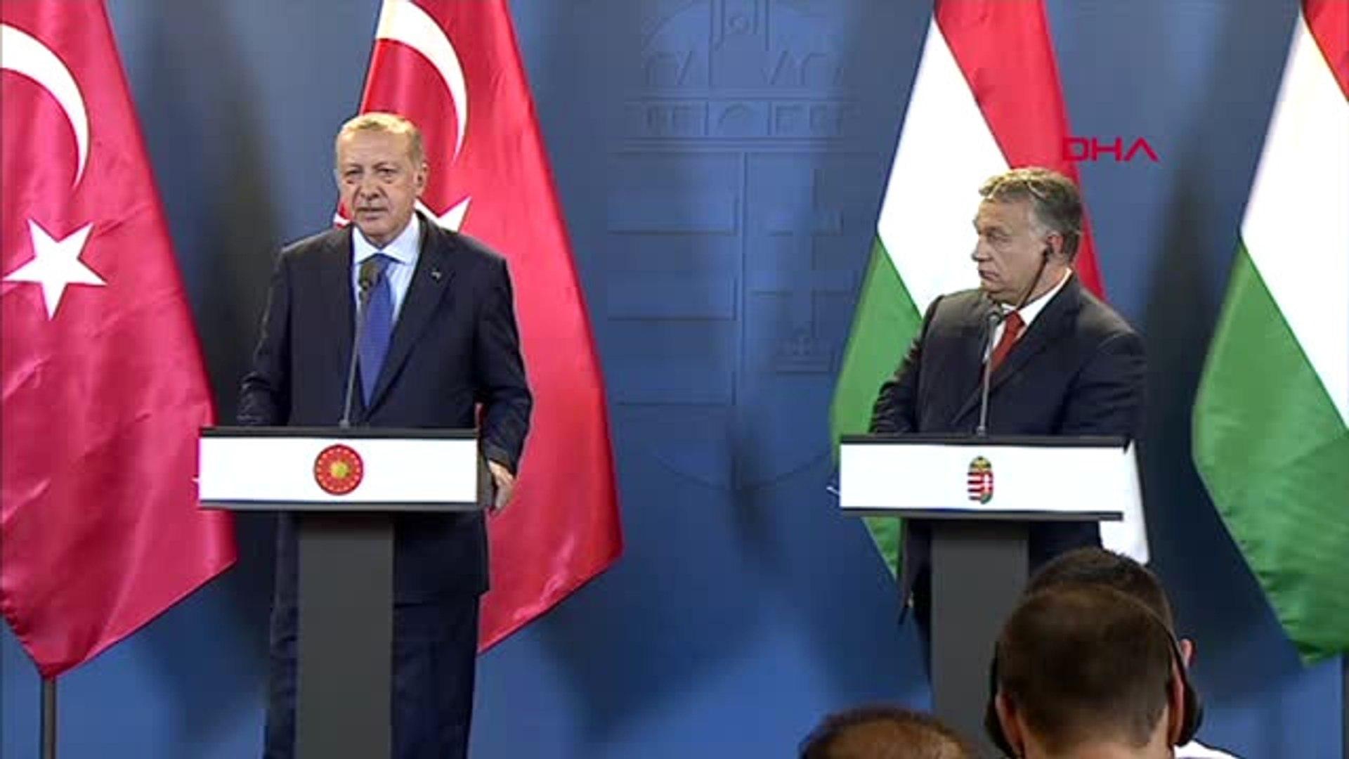 Cumhurbaşkanı Erdoğan Macaristan Başbakanı Viktor Orban ile Ortak Basın Toplantısı Düzenledi 3